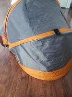 Replacement Canopy for Baby Jogger City Mini Stroller Great Condition & in Black