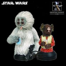 Gentle Giant Star Wars Kabe and Muftak from the Mos Eisley Cantina Mini Bust Set