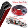5Meter L Shape Seal Strip Car Door Hood Trunk Trim Rubber Moulding Edge Strip