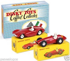 DISPONIBLE DINKY ATLAS COFFRET COLLECTOR FERRARI 23J MASERATI SPORT 2000 22A