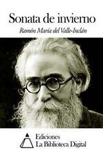 Sonata de Invierno by Ramón María del Valle-Inclán (2014, Paperback)