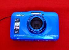 """Nikon COOLPIX S31 10.1MP, Built-in Flash,USB 2.0, 2.7"""" LCD Digital Camera - Blue"""