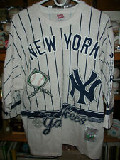 1927 NY YANKEES SHIRT BY LONG GONE - FULL OF GRAPHICS - COOPERSTOWN COLLECTION