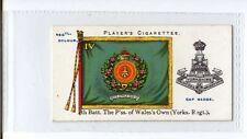 (Jv875-100) Players,Regimental Colours & Cap Badges,4Th Batt P.Wales Own,1907#13