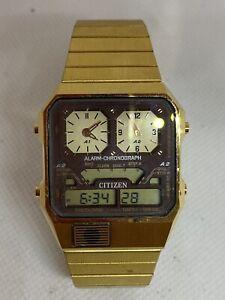 Montre Citizen Alarm-chronograph
