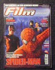 2002 FILM REVIEW Magazine #40 GD- 1.8 Spider-Man - Daredevil - Batman - Superman