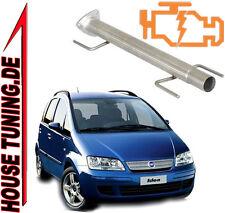 Tubo Rimozione FAP DPF Downpipe Fiat idea 1.3 Mjet JTD 95 cv Euro5 T5A