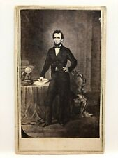 New listing Original Civil War Era Cdv Abraham Lincoln, Full Standing Image