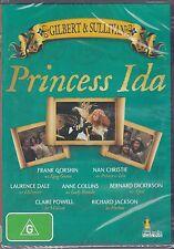 PRINCESS IDA - GILBERT & SULLVIAN -  Frank Gorshin, Neil Howlett, - DVD