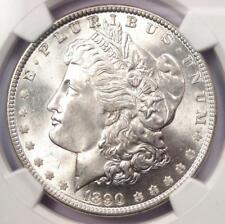 1890 Morgan Silver Dollar $1 - NGC MS64+ PQ - Rare Plus Grade - Near MS65!