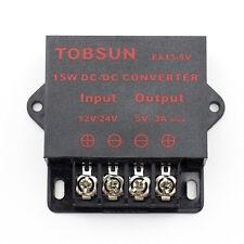Dc Dc 12v 24v To 5v 3a Converter Step Down Regulator Module 15w