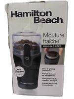 Hamilton Beach Fresh Grind Coffee Grinder 80335R New open  Box