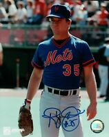 Randy Jones Signed 8X10 Photo Autograph New York Mets Blue Auto w/COA