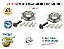 2x Front WHEEL BEARINGS for AUDI A6 Avant 4G5 2.0TDi 2013-2018