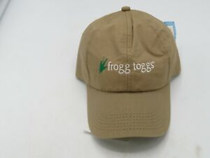 New Frogg Toggs Hydroweave Cooling Cap Baseball Hat Tan P8