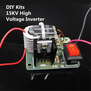 15KV Hi-Voltage Inverter Generator Ignition Coil Module Transformer DIY Kit 3.7V