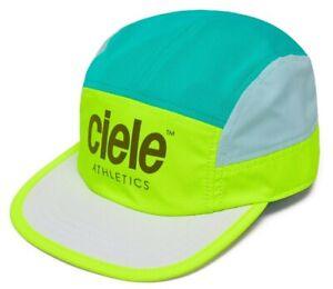 CIELE ATHLETICS Unisex 'GOCap Athletics Voltaire' Running Cap Hat Yellow **NWT**