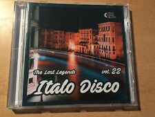 CD Italo Disco - The Lost Legends vol.22 (Limited Edition: only 100 copies)