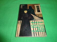 A DOLL'S HOUSE AND OTHER PLAYS  BY  HENRIK IBSEN (SMALL PAPERBACK BOOK)#