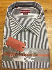 Pierre Cardin Casual Stripe Shirt/Grey - 4XL WAS £39.99