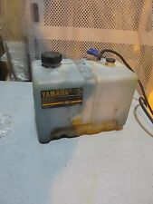 OEM Yamaha 10.5 Gallon Outboard Remote Oil Tank Resevoir Assy  Blue connector