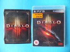 Videojuegos Diablo Sony PlayStation 3 PAL