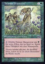 Priest of Titania / Titanias Priesterin - Urza's Saga - Magic - PL - DE