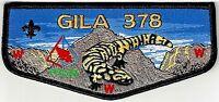 GILA LODGE 378 YUCCA COUNCIL TX PATCH 2016 OA PRISM NEXT DELEGATE FLAP FEW MADE!