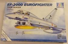 Italeri 1/72 EF-2000 Euro Fighter Model Kit 099