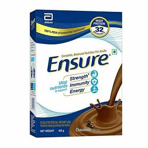 Ensure Balanced Adult Nutrition Health Drink - 400 gm (Chocolate) Free shipping