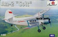 Amodel 1:144 An-2 Colt Biplane Plastic Aircraft Model Kit #IBA1422