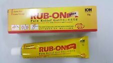 Rub-On plus Pain Relief Gel Methyl Salicylate 25% with Menthol and Camphor Hot