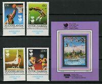 Yugoslavia 1988 ☀ Sport - Seoul Olympic games  set + MSS ☀ MNH**