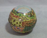 1979 Dodo Designs Round Tin Box Made in Switzerland