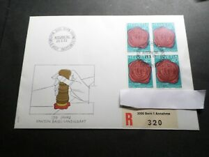 Switzerland Helvetia, 1983, FDC 1° Day Recommend ', Stamp 1184, Seal