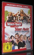 DVD ASTERIX & OBELIX GEGEN CAESAR + IM AUFTRAG IHRER MAJESTÄT - 2 FILME * NEU *