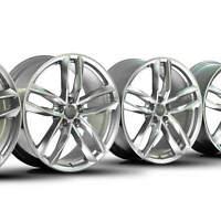 4x Audi 20 Zoll Felgen Competition A6 S6 4G & Allroad Alufelgen S line NEU