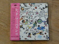 Led Zeppelin: III SHM CD Japan Mini-LP WPCR-13132 Mint(jimmy page robert plant Q