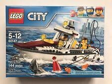 LEGO City Fishing Boat 60147 - New Sealed (Retired Set)