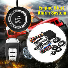 Car Alarm Start Security System Smart Keyless Entry Ignition Push Button Starter