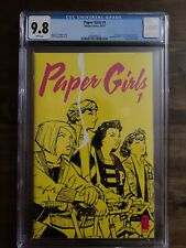PAPER GIRLS #1 CGC 9.8 (10/15) WHITE PAGES BRIAN K. VAUGHN IMAGE AMAZON SHOW!