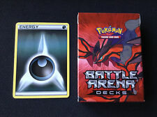 Pokemon Cards X 20 DARK ENERGY - NON HOLO + BONUS YVELTAL BATTLE ARENA DECK BOX
