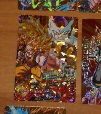 DRAGON BALL Z DBZ DBS HEROES CARD PRISM HOLO CARTE HG5-CP1 CP MADE IN JAPAN **