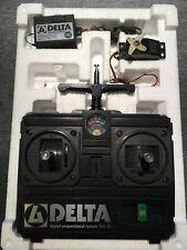 Multiplex Delta Fernsteuerung incl Servo 2/4 Kanal 40 MHz