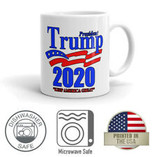Trump 2020 Keep America Great Conservative Republican Donald Trump Coffee Mug
