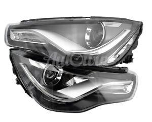 Audi A1 8X 2010-2015 Bi Xenon Headlight Set Left and Right Side Genuine OEM NEW