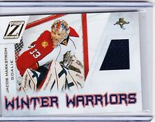 10-11 2010-11 ZENITH JACOB MARKSTROM WINTER WARRIORS JERSEY JM FLORIDA PANTHERS