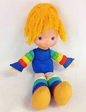 "Vintage Rainbow Brite Full-Sized 18"" Plush Vinyl Doll 1983 Hallmark Cards"