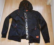 Superdry Herren Jacke Kapuzenjacke Gr.XXL Black Hoodie Jacket Top