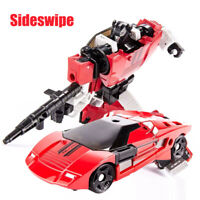 """Transformers G1 IDW Autobot Sideswipe LP400 Red 6.7"""" Action Figure Kid Child Toy"""